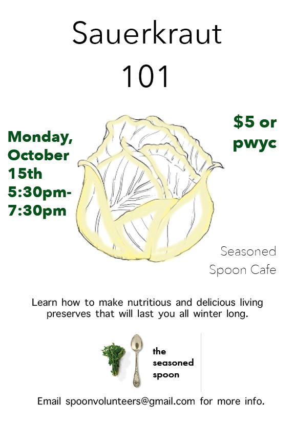 Sauerkraut 101