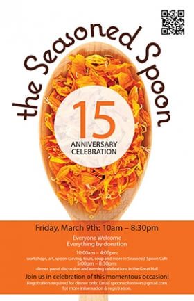 The Seasoned Spoon 15th Anniversary Celebration