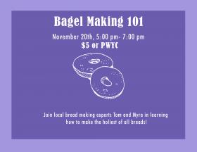 Bagel Making Workshop
